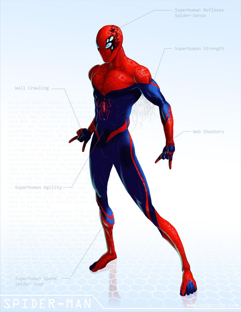 Spider-Man - OG Marvel remix DB by ogi-g