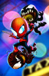 Spider-Man in 'Maximum Baby Carnage'