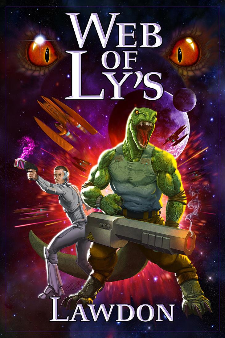 Web of Ly's (novel cover) by ogi-g