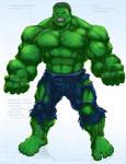 Hulk - OG Marvel remix DB
