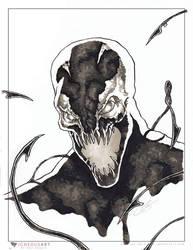 Carnage marker sketch by ogi-g
