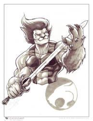 Lion-O marker sketch by ogi-g