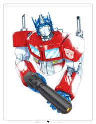 Optimus Prime by ogi-g