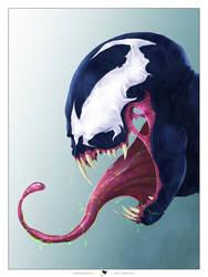 Venom's smile by ogi-g