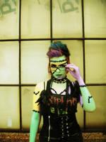 Frankenstein Girl by MollyXCore