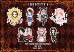 Identity V chibi collection II by Soya027