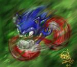 the Blue Blur
