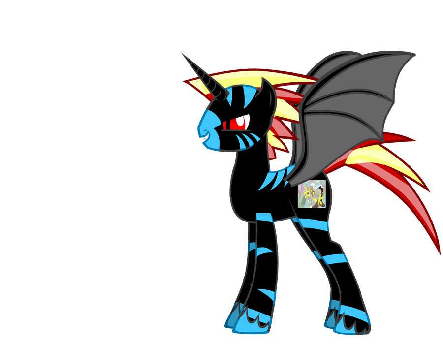 evil pony by base-code on DeviantArt