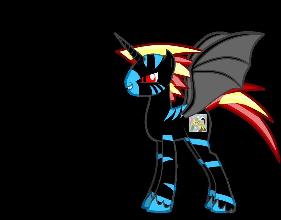 evil pony by base-code on DeviantArt