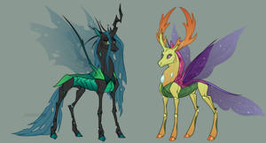 Royal Changelings | MLP:FiM