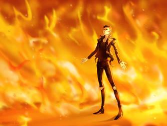 Set this world on fire   Digital Art