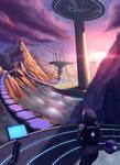 Sci-fi city ~ finish version