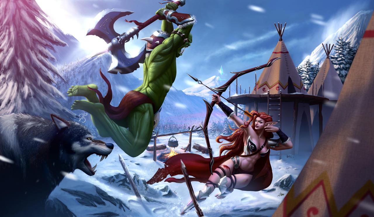 Elf Vs.Orc