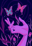 Butterfly Trance by DyanerisArt