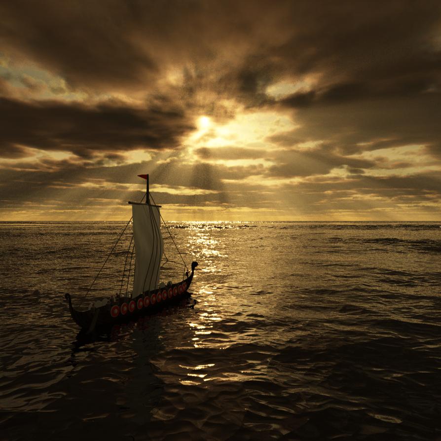 Vikings Ahoy! by Voleuro