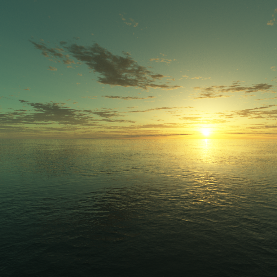 Paradise Sea by Voleuro