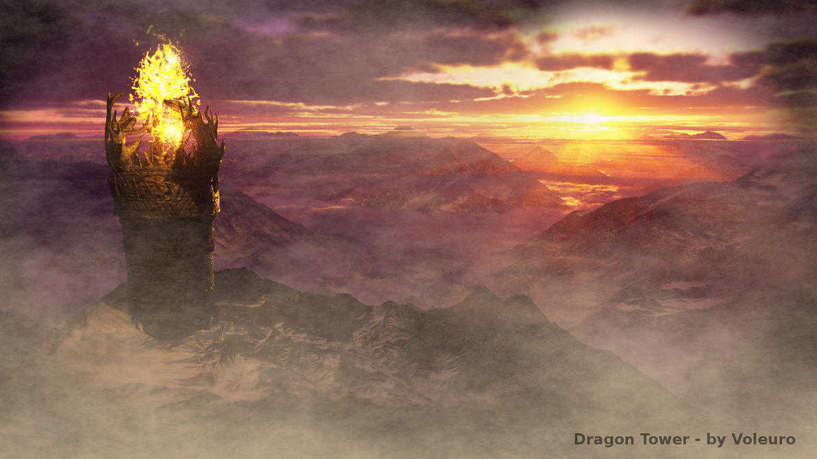 Dragon Tower by Voleuro