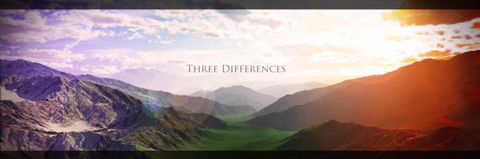 Three Differences