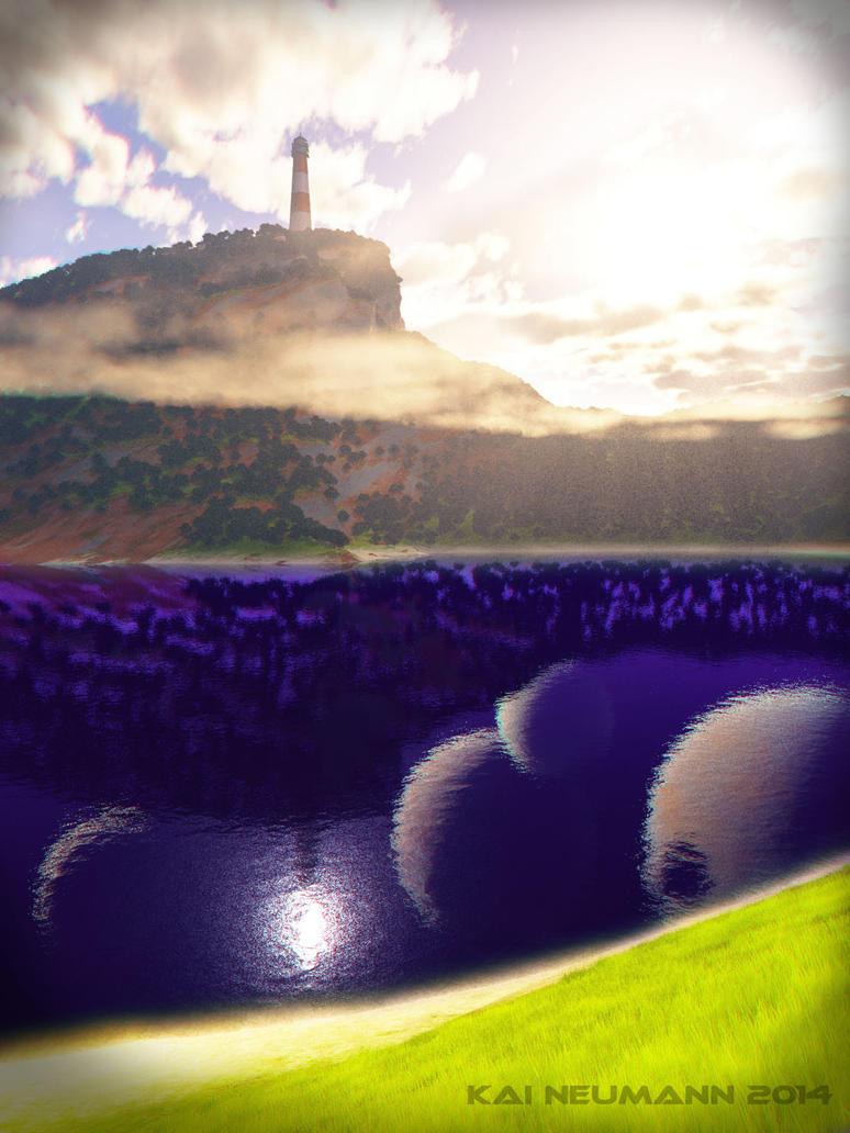 Deep lakes.. by Voleuro