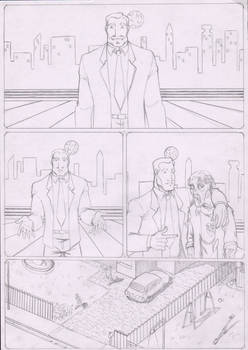 ...And now... page 1 penciled