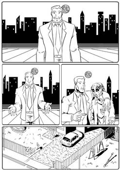 ...And now... page 1 inked