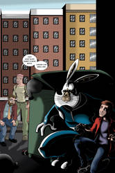 Megatomic Battle Rabbit issue 2 alternative cover