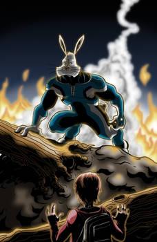 Megatomic Battle Rabbit issue 1 cover
