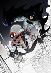 Spidey y Bats fusion