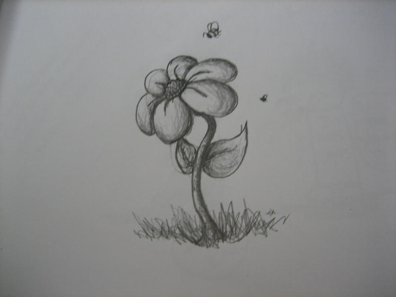 Flower by Ookamashkitty