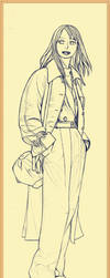 Line Drawing Series 2 015 by LeopoldScarlet