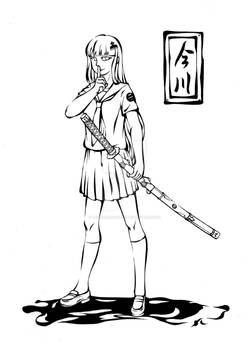 Sefuku and katana~Imagawa