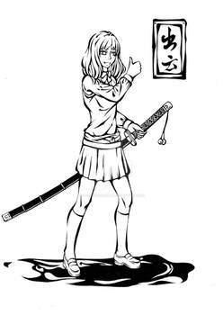 Sefuku and katana~Izumo