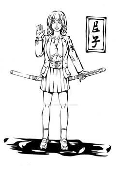 Sefuku and katana~Amako