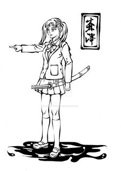 Sefuku and katana~Morisawa