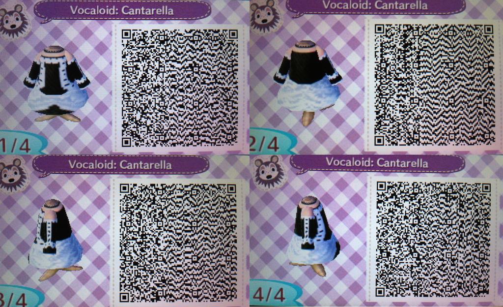 Acnl Qr Code Hatsune Mikus Cantarella Dress By Lovi My Chibi