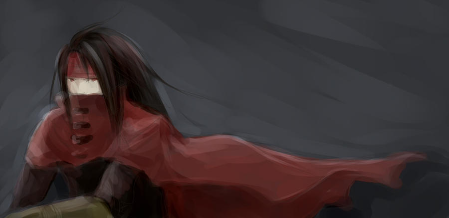 Vincent Valentine by yume-utsutsu