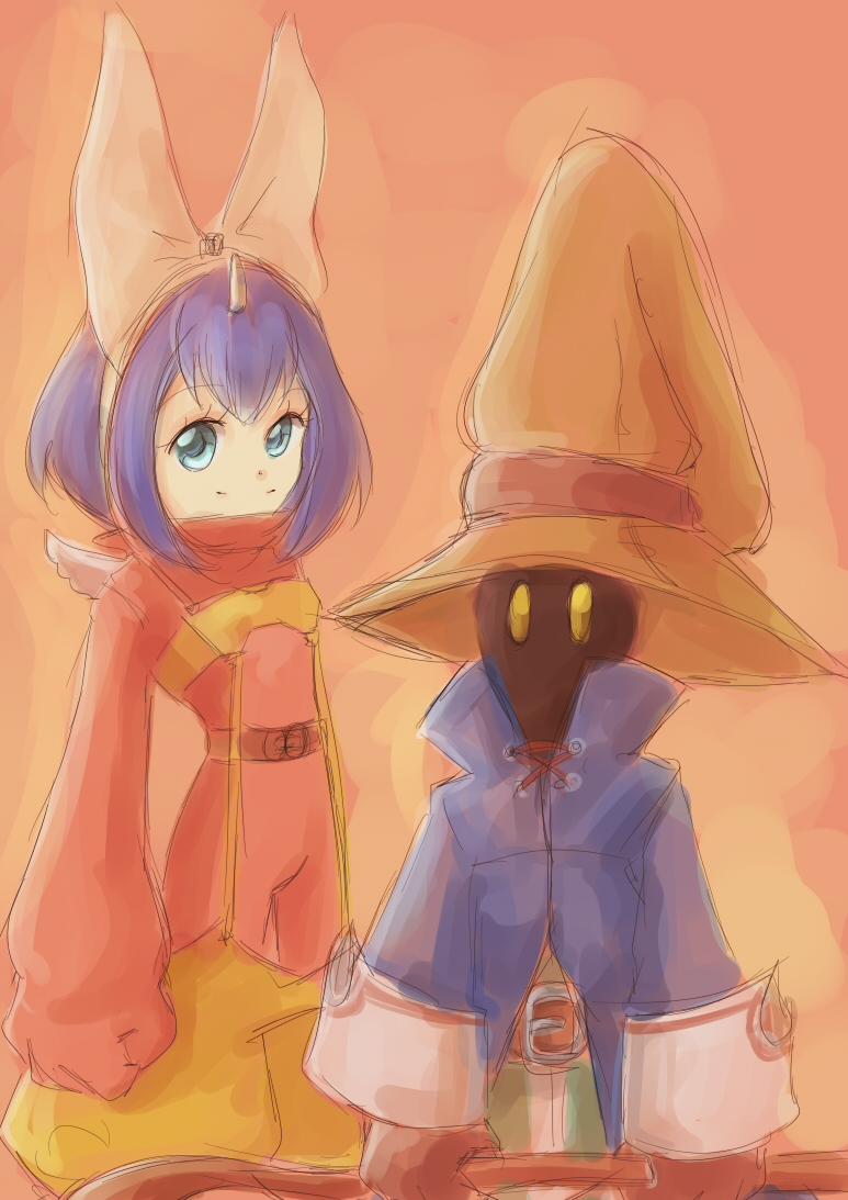 Eiko and Vivi by yume-utsutsu