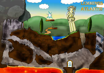 lemmings  level by 68clifton