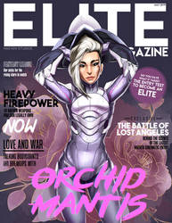 Elite Magazine - Orchid Mantis cover