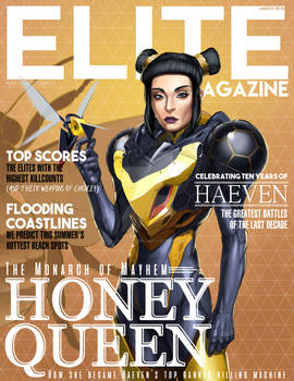Elite Magazine - Honey Queen cover