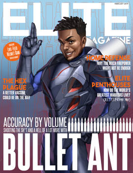 Elite Magazine - Bullet Ant cover