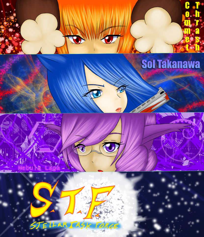Stellar Task Force Team 1 by SoniaBane