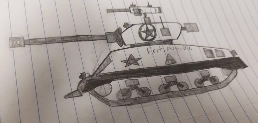 M4A3 76mm sherman by Garris24