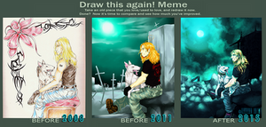Draw Again Meme: The Only Friend