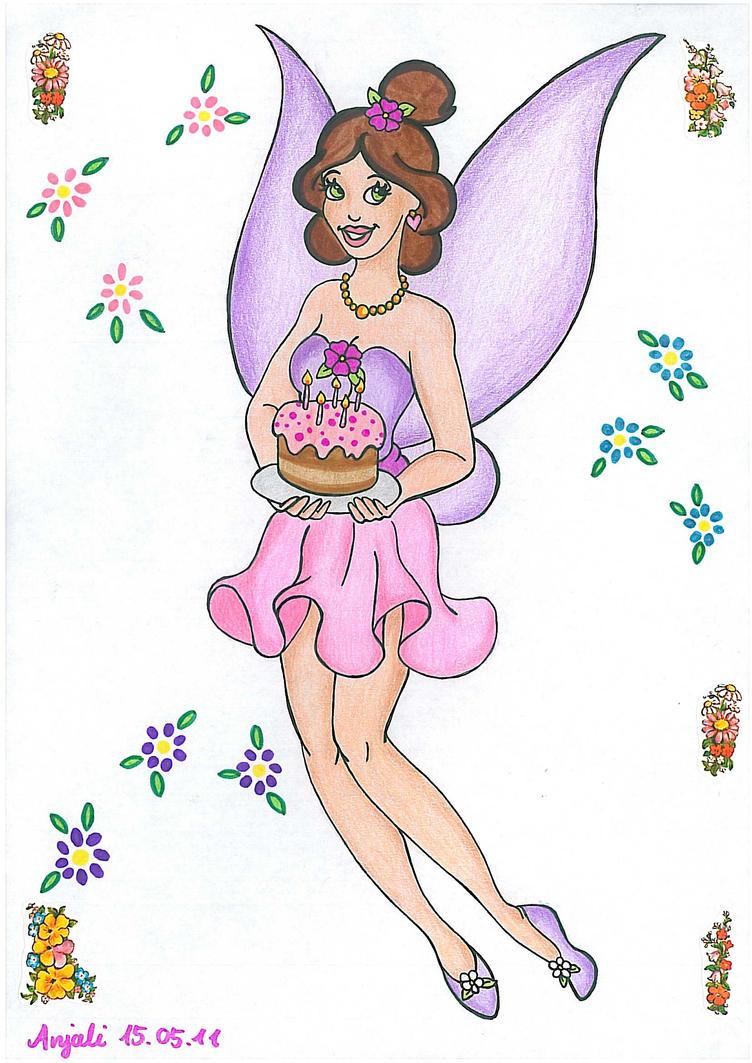 Birthday Fairy by AnneMarie1986 on DeviantArt
