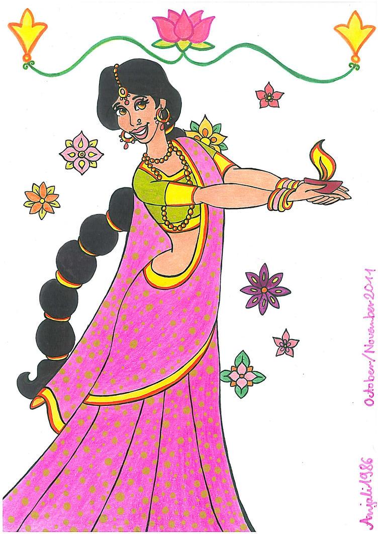 Happy Diwali By Annemarie1986 On Deviantart
