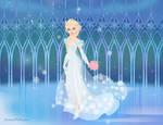 Snow Bride Elsa