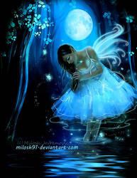 Fairy Night by MiloshJevremovic