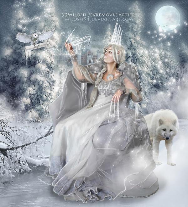 Ice Queen by MiloshJevremovic on DeviantArt