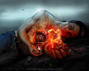 My pain by MiloshJevremovic